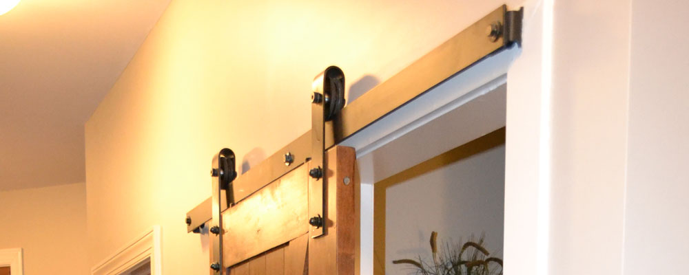 Barn Door Hardware for Bathroom Door