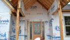 Entrance of New Home Under Constuction