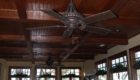 Incredible Coffered Dark Ceiling
