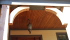 Wainscott Ceiling on outside porch