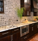 Kitchen of Mountain Ash Custom Homne Model