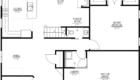 Walnut Home Model 1st Floor Plan Drawing