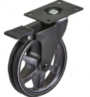 Aluminum Single Wheel Design Caster - Rustic Iron