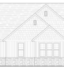 Acacia Front Elevation Blue Print