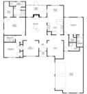 Aspen Home Model Floor Plan Blue Print