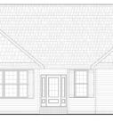 Aspen Home Model Front Elevation Blue Print