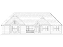 Birch Custom Home Model Blue Print