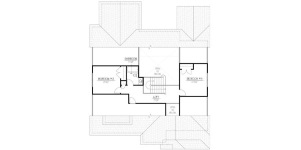 Black Cherry Second Floor Plan Blue Print