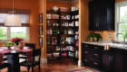 MasterSuite in Chocolate Pear in Walk in Kitchen Pantry