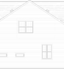 Walnut Custom Model Home Plan Right Side Blue Print