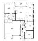 Cottonwood Custom Home Floor Plan First Floor