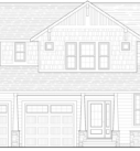 Walnut Custom Home Model Front Elevation