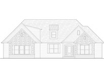 Dogwood Custom Home Builder Front Elevation