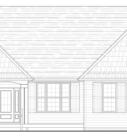 Willow Custom Home Model Plan Blue Print
