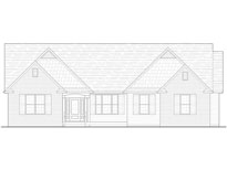 Willow Front Elevation Custom Home Model Plan