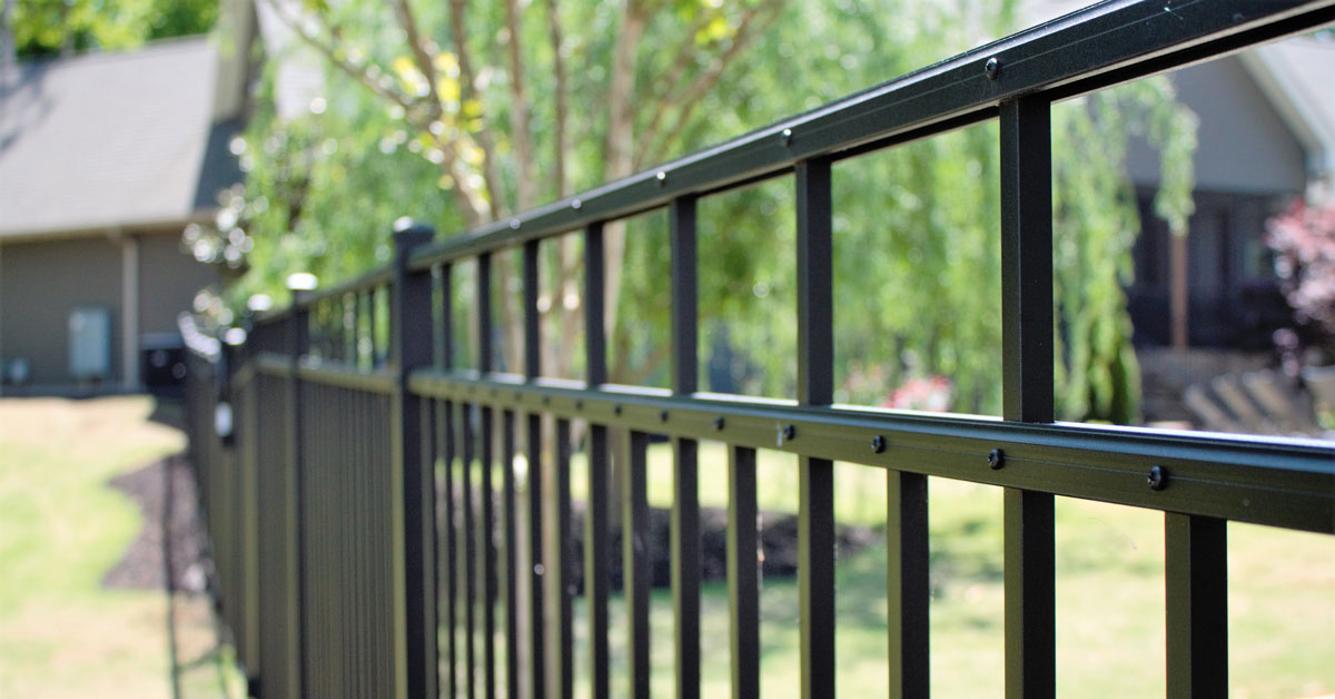 Woodcrafters Home Builder Custom Fence