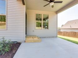 Black Cherry model back porch view #1