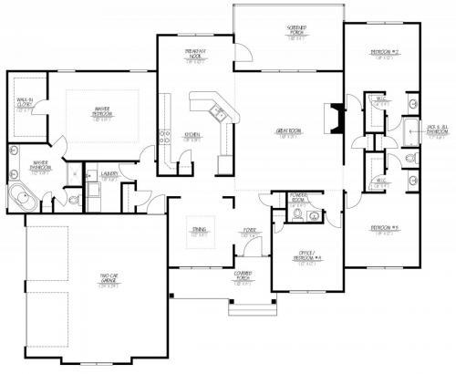 Birch Floor plan