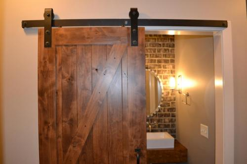 Mountain Ash Custom Model Home  with barn door