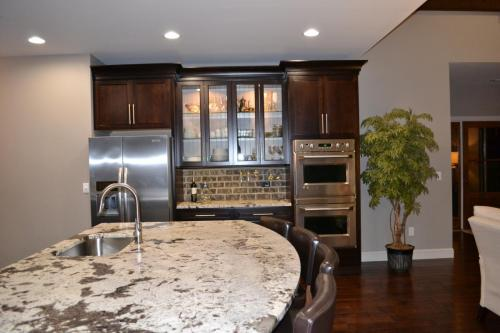 Mountain Ash Custom Model Home Kitchen