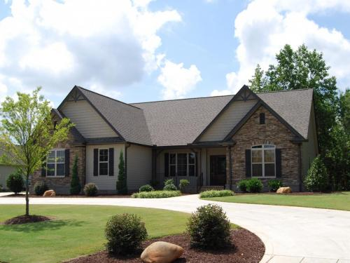 Willow Custom Home Model Exterior